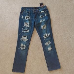 Rue21 Distressed Jeans